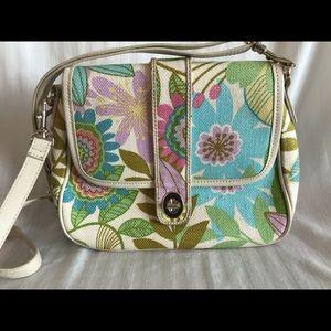Spartina 440 crossbody floral print purse